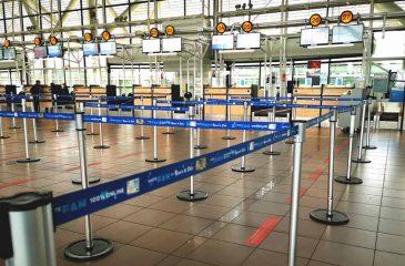 Medidas sanitarias Aeropuerto De Santiago Durante Pandemia Por Covid 19
