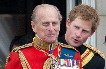Príncipe Harr Y Felipe De Edimburgo