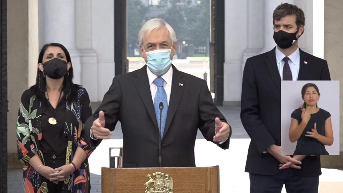 Sebastián Piñera IFE