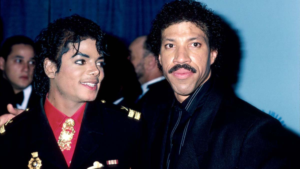 We Are The World Michael Jackson Lionel Richie 2