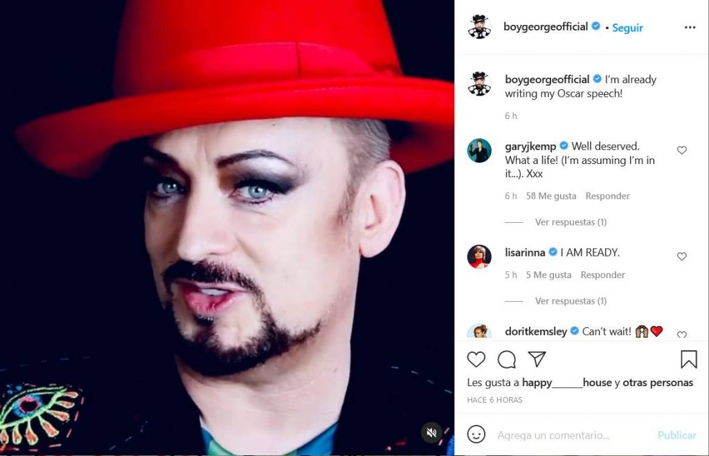 Boy George Instagram
