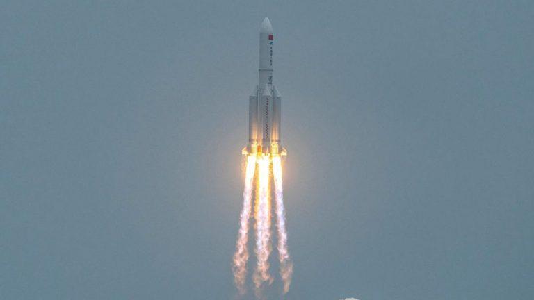 Cohete chino Larga Marcha-5B
