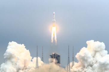 Cohete Chino Long March 5B