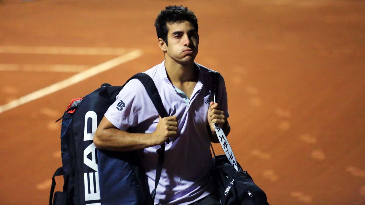 Cristian Garín descendió tres puestos en el ranking de la ATP
