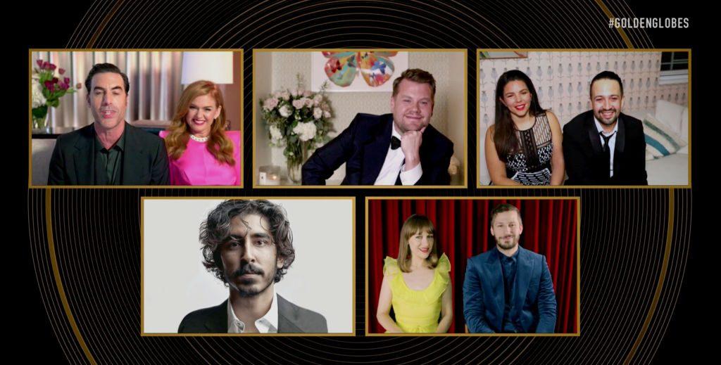 "NBC's ""78th Annual Golden Globe Awards"" Winners Press Experience"