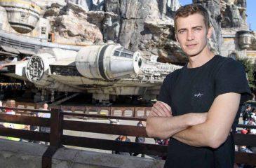 Actor Hayden Christensen Takes Over The Millennium Falcon In Star Wars: Galaxys Edge At Disneyland