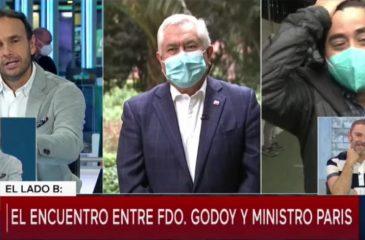 Ministro Paris Y Fernando Godoy