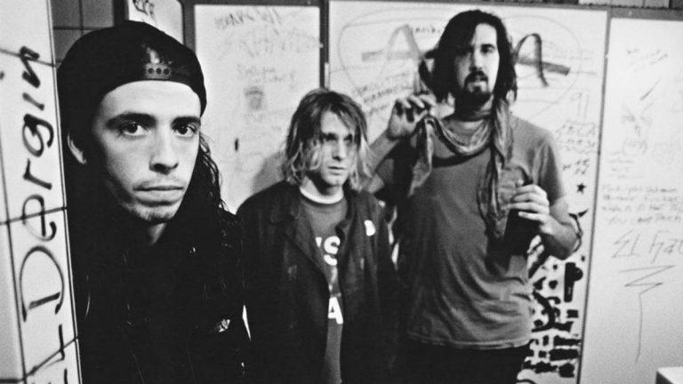 Nirvana Backstage