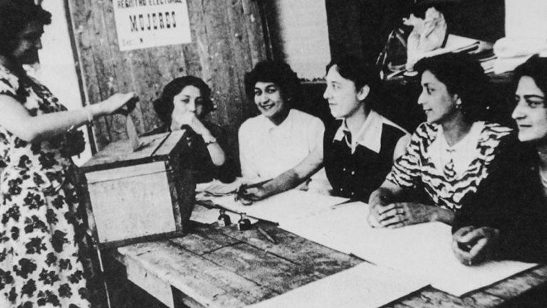 Voto Femenino Chile