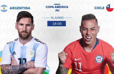 Argentina vs Chile Copa América 2021