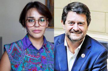 Candidatos Región Metropolitana Karina Oliva Y Claudio Orrego