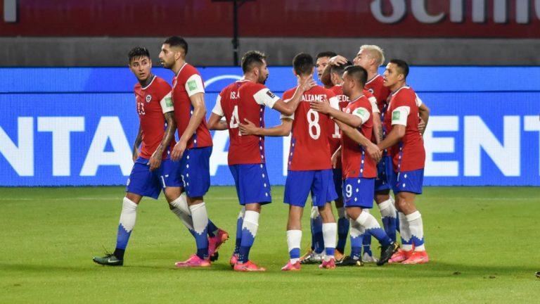 La Roja Selección De Fútbol De Chile Argentina Mundial Qatar 2