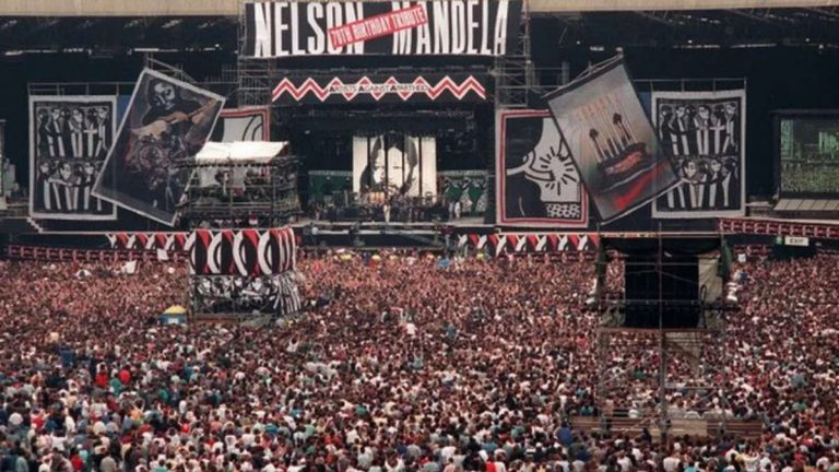 Nelson Mandela Concierto