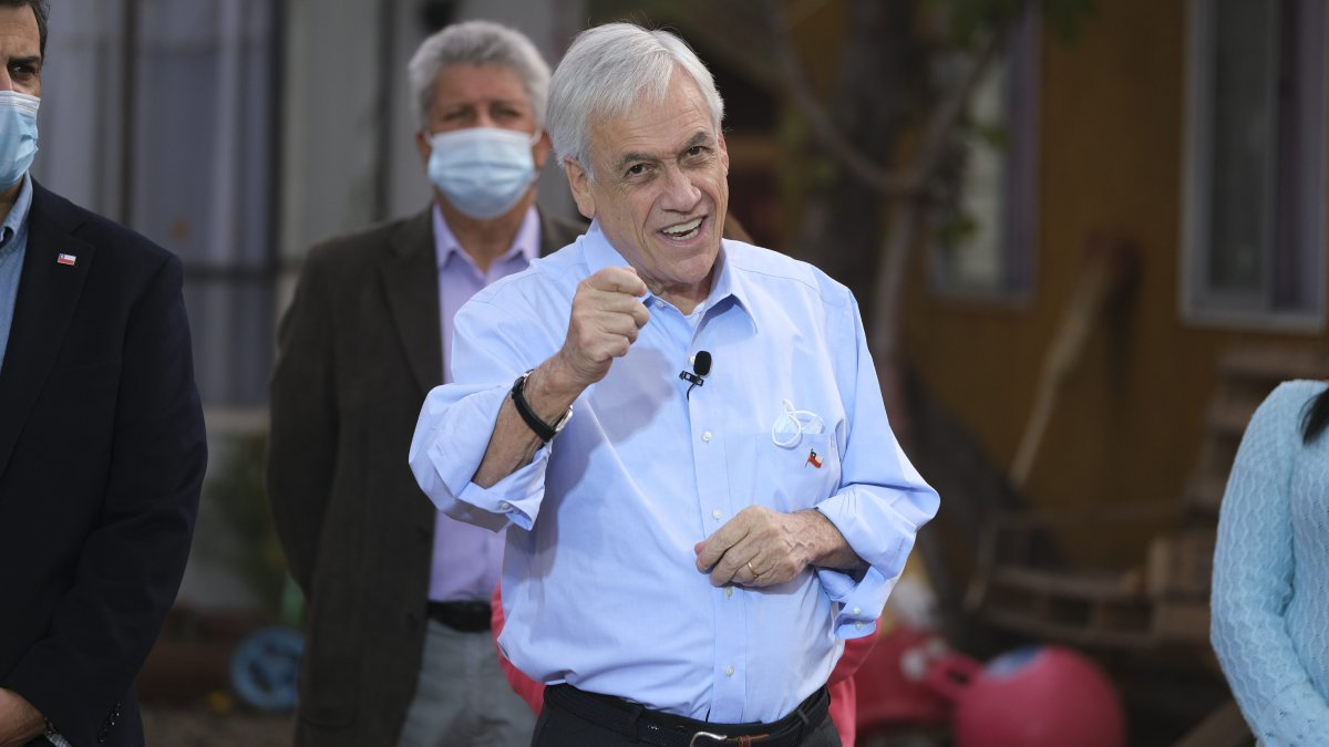 Sebastián Piñera IFE Universal 2