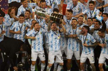 Argentina Campeón Copa América 2021 Brasil