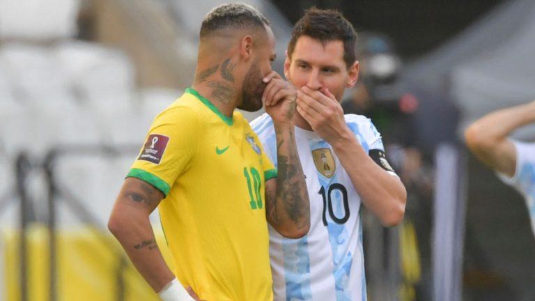 Brasil Argentina Neymar Lionel Messi