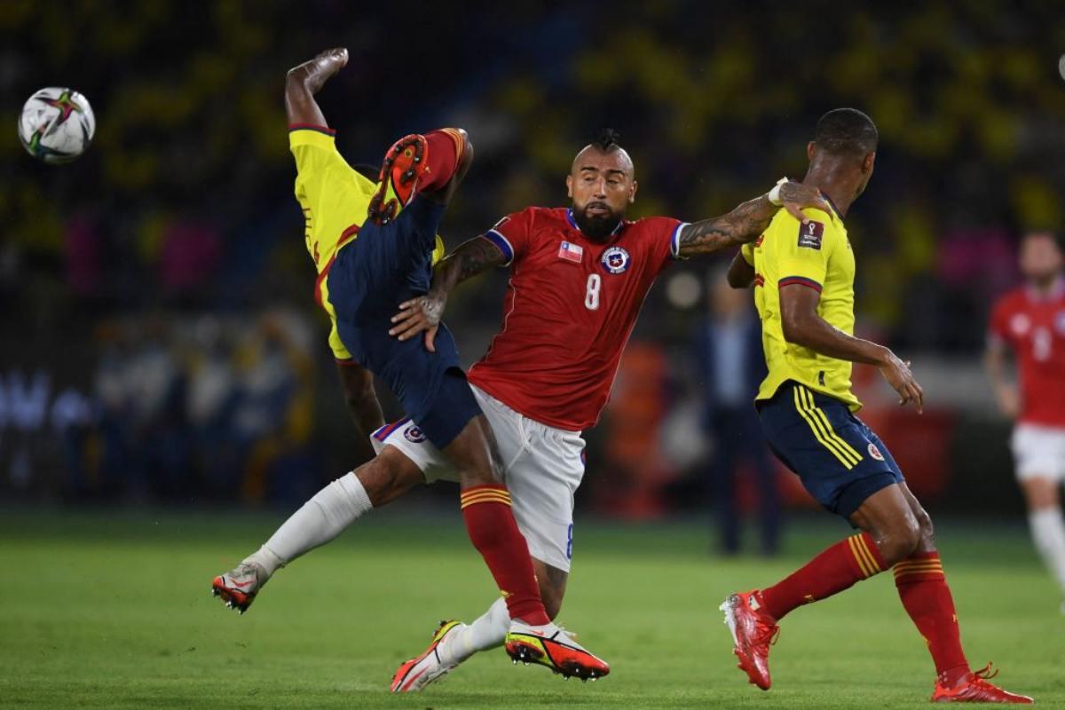 Colombia Chile Arturo Vidal