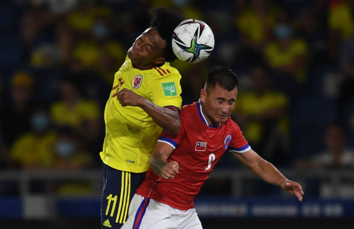 Colombia Chile Eliminatorias Qatar 2022