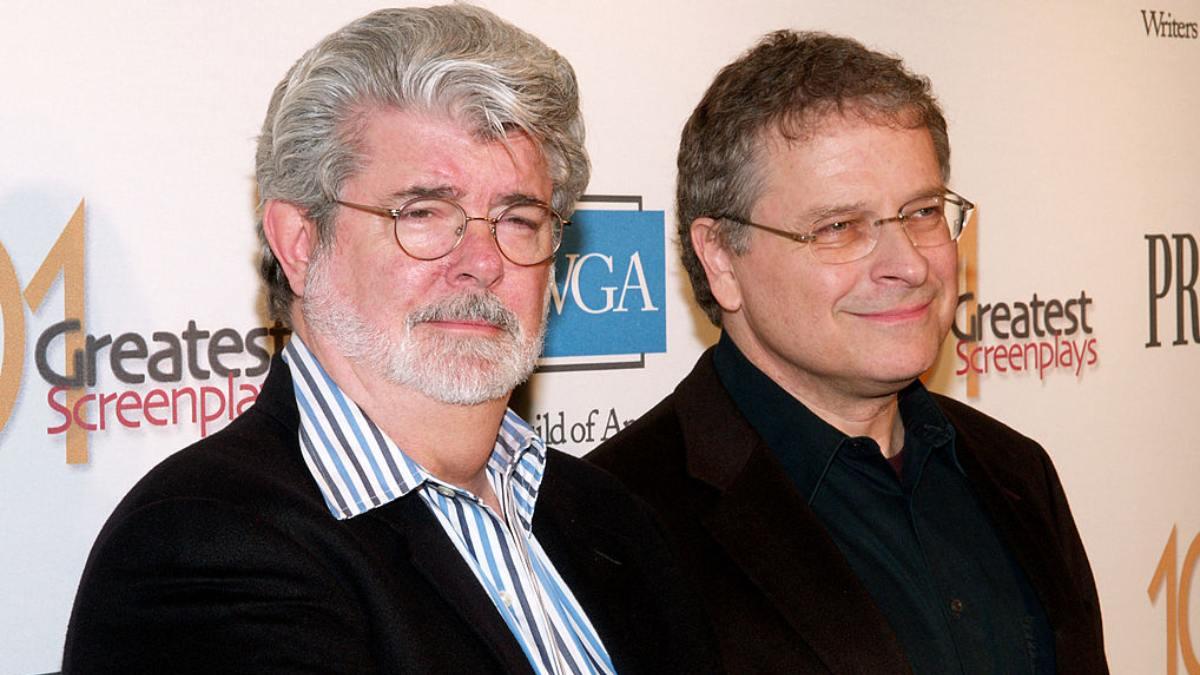 George Lucas Lawrence Kasdan 2