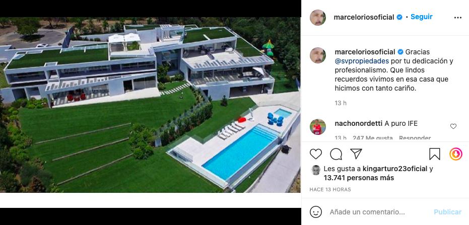 MArcelo Chino Ríos Mansión Instagram