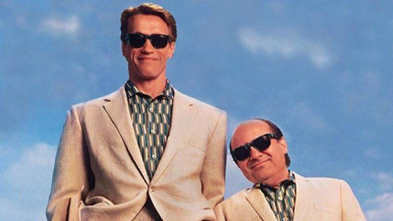 Twins Danny DeVito Arnold Schwarzenegger