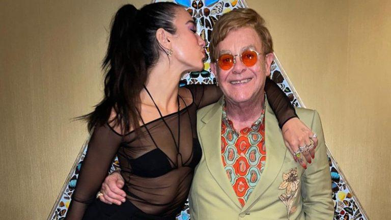 Elton John Y DuaLipa