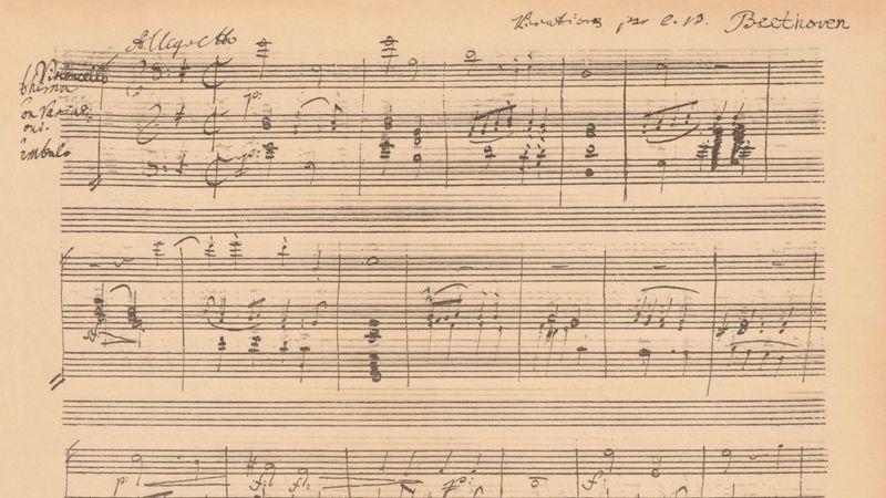 Ludwig Van Beethoven Partitura