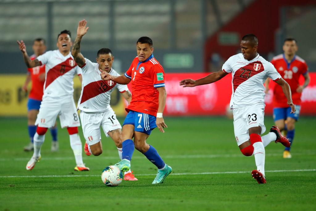 Peru V Chile FIFA World Cup 2022 Qatar Qualifier
