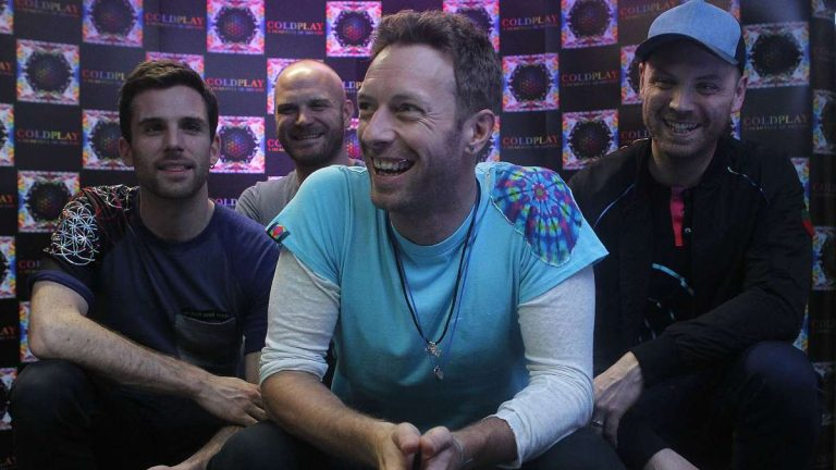 Coldplay Tour Chile
